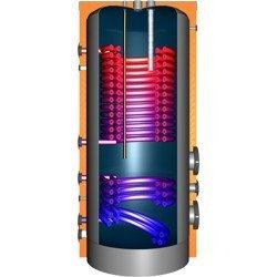 JDWS600 Hochleistungswärmepumpenspeicher mit 2Doppelwendel-Wärmetauscher